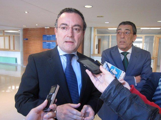 El director general de la Agencia de Protección Civil, Fernando Salguero