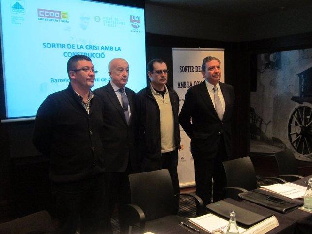 Alfredo Cabeza, F.Boixadós, José García y Joaquín Osorio