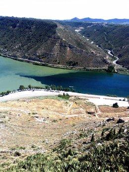 Ruta de senderismo y BTT del río Segre y del Ebro, en Mequinenza