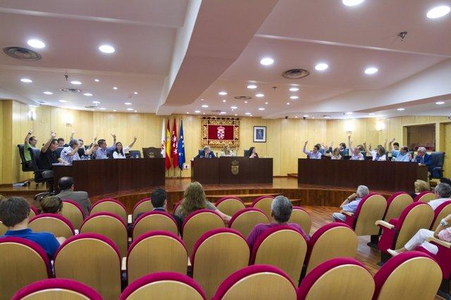 El Pleno del Ayuntamiento de Pinto
