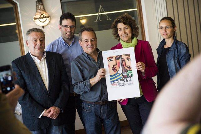 Jurado y cartel ganador para anunciar el XX Concurso de Tapas de Zaragoza y Prov