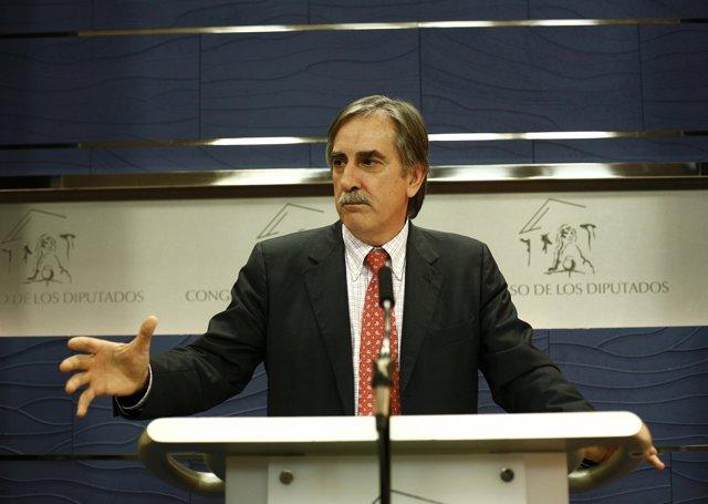 Valeriano Gómez, portavoz económico del PSOE