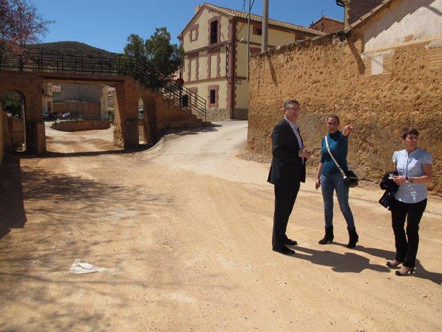 El Ayuntamiento de Teruel limpia la rambla de Villaspesa