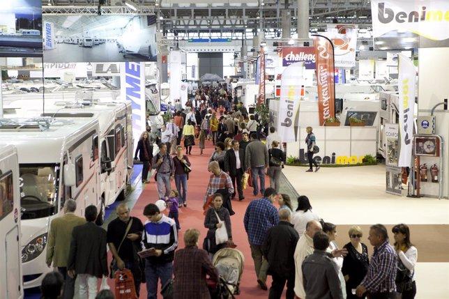 Salón Internacional del Caravaning de Barcelona 2012