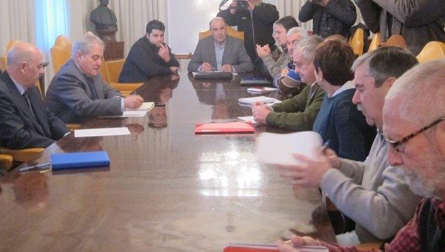 Reunión entre Dirección y comité de Sniace