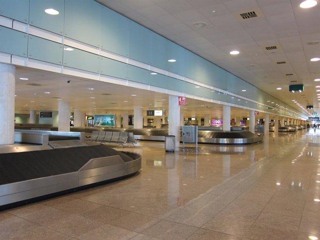 T1 del Aeropuerto de El Prat
