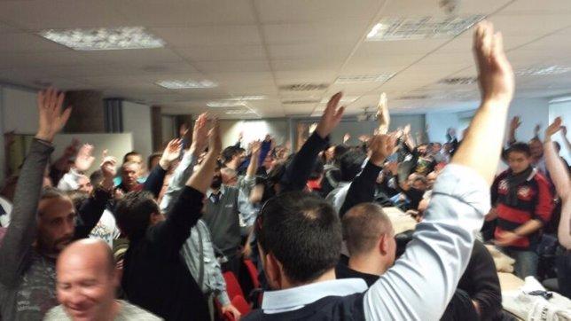 Asamblea de trabajadores de ALSA