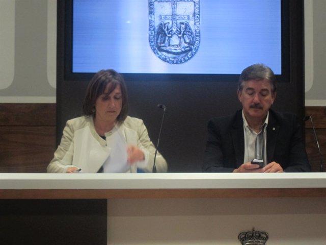Margarita Vega y Alfredo Carreño.