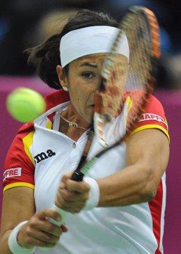 Silvia Soler En La Copa Federación