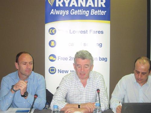 Rueda de prensa Ryanair