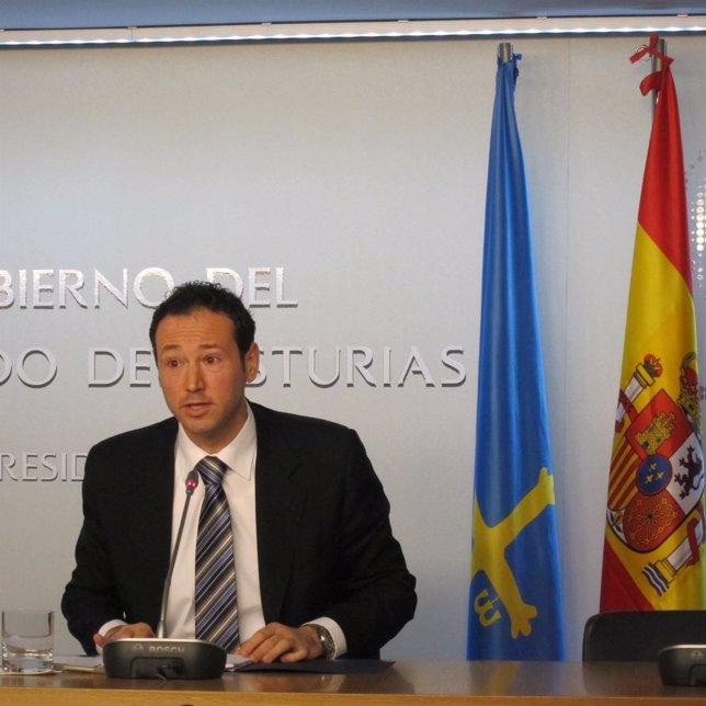 El consejero de Presidencia del Principado, Guillermo Martínez