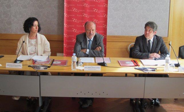 Cantalapiedra, Javier León de la Riva y José Mª Viteri presentan los datos