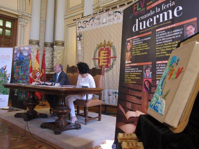 Presentaciónd el programa de la Feria del Libro de Valladolid