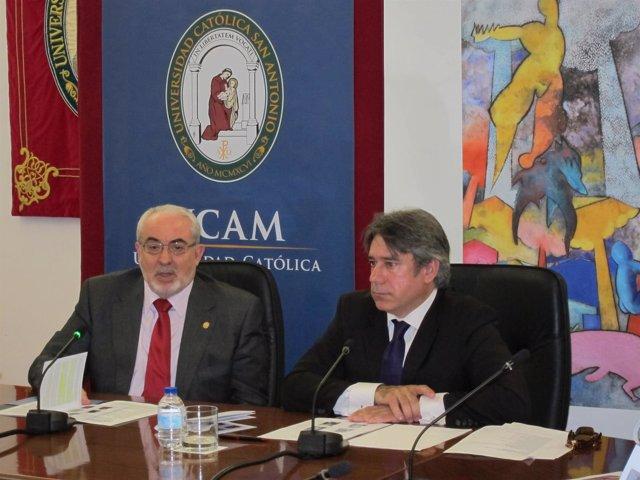 José Luis Mendoza y Cris Gabarrón