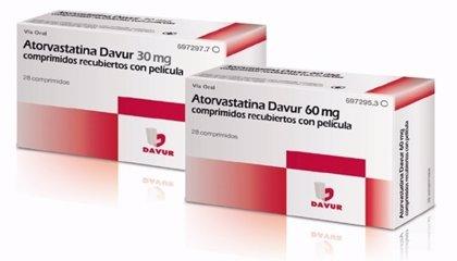Davur lanza 'Atorvastatina' de 30 mg y 60 mg para el tratamiento de la hipercolesterolemia