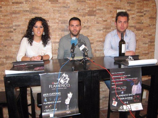 Presentación De 'Feel Flamenco' En Cáceres