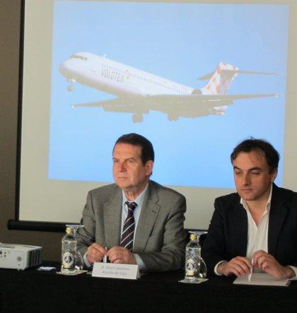 Volotea operará vuelos a Mallorca, Ibiza y Valencia desde Vigo