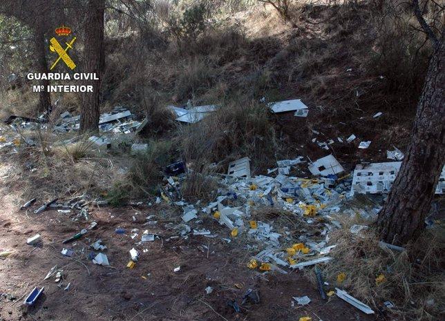 La Guardia Civil desmantela una organización criminal dedicada al robo de cobre