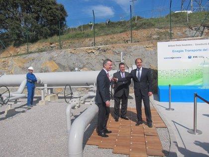 Economía.- Enagás Transporte del Norte inaugura el gasoducto entre Euskadi y Cantabria, de 41,2 millones de inversión