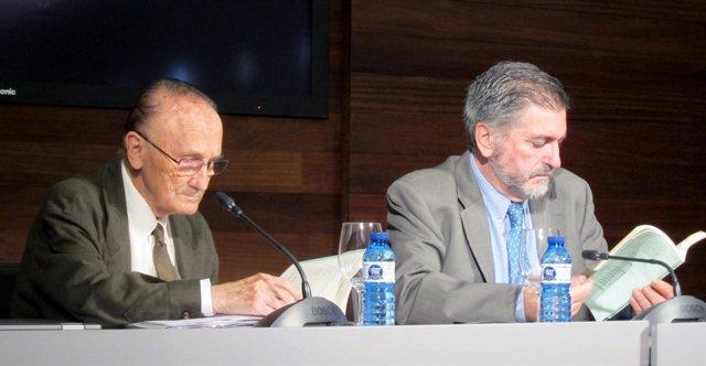 Vicente Zaragüeta y Jesús Eguiguren