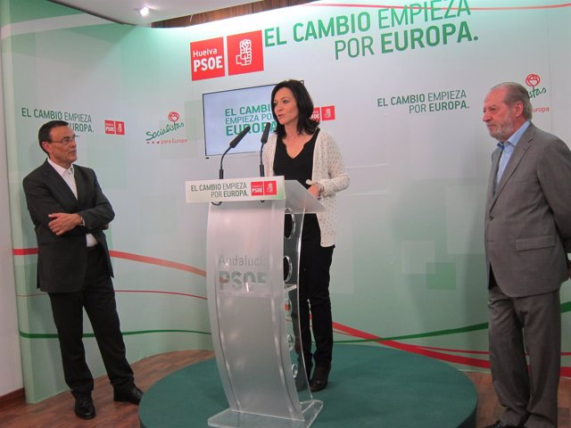Rafaela Crespín, Ignacio Caraballo y Fernando Rodríguez  Villalobos.