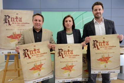 Granada.- Turismo.- Pinos Puente reivindica su pasado colombino con una nueva ruta de tapas con ingredientes de América