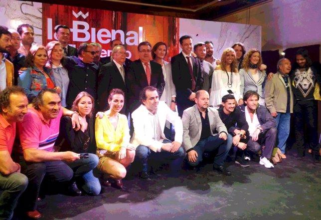 Presentación oficial de la Bienal de Flamenco 2014