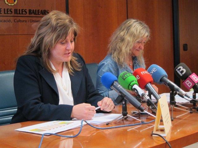 Joana Maria Camps e Isabel Cerdà