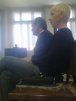 Ana Torroja, durante su juicio por fraude fiscal