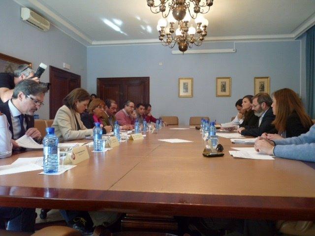 Reunión de la Comisión Provincial del PFEA, celebrada este miércoles