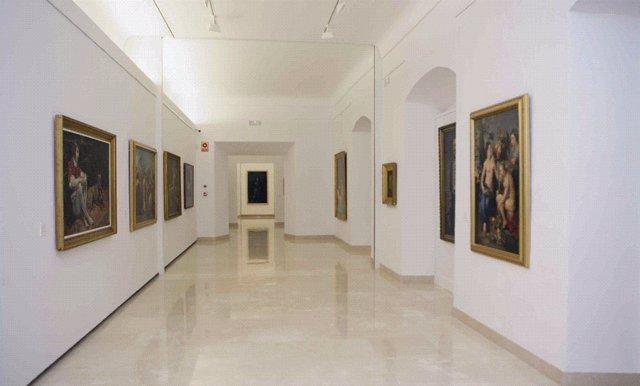 Vista General De La Sala De La Casa Museo De Los Colarte En Antequera