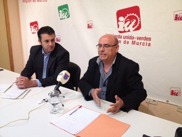 El responsable de Medio Ambiente de la formación, David Fernández