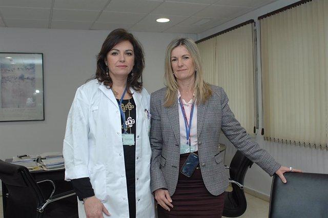 Pilar Pedraza y Amparo Simón
