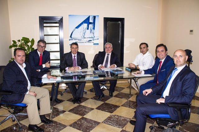 Comisión de seguimiento en Huelva.