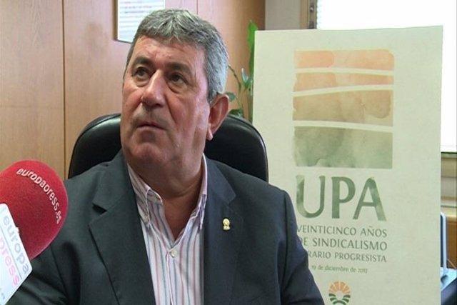 Lorenzo Ramos, secretario general UPA
