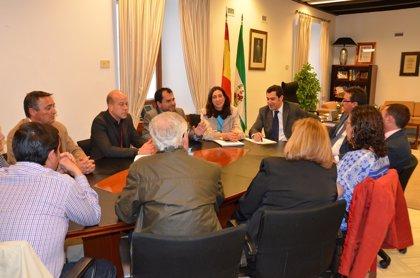 Moreno apoya la reapertura de la mina de Riotinto y reclama que el empleo se quede en la comarca
