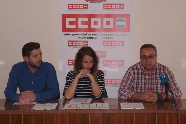 Francisco Cantero, Estrella Ordóñez y José Moral
