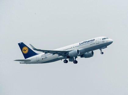 El grupo Lufthansa transporta más de 21 millones de pasajeros hasta marzo, un 0,5% más