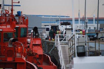 Pesca.- Las labores de inmersión para inspeccionar el 'Mar de Marín' se retomarán este jueves