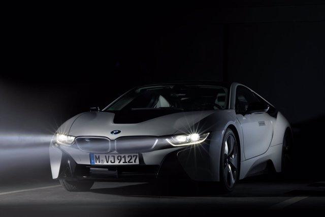 Iluminación láser de BMW