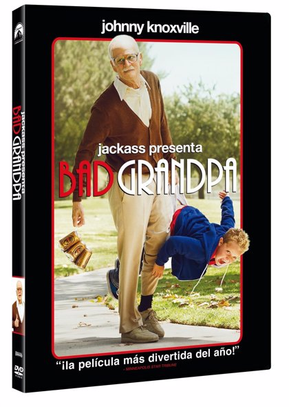 Sorteo: ¡3 packs de Jackass presenta: Bad Grandpa!