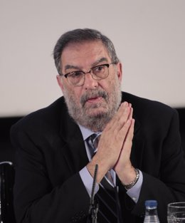 El presidente de la Academia Enrique González Macho