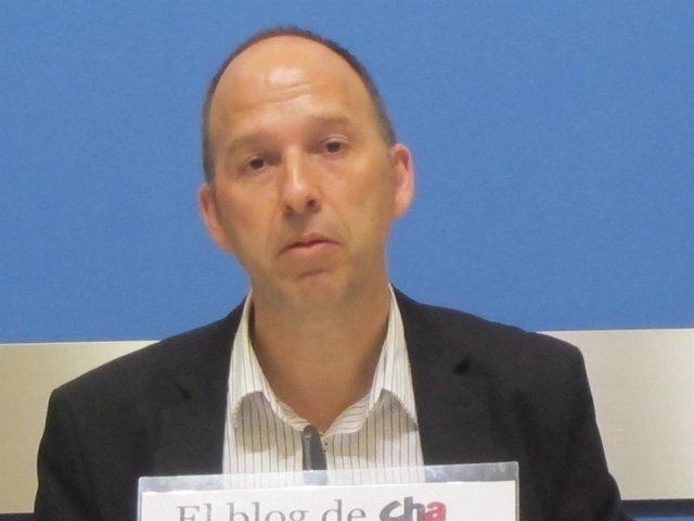 El concejal de CHA, Carmelo Asensio