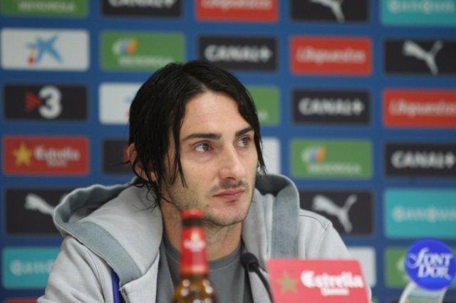 El jugador del RCD Espanyol Diego Colotto