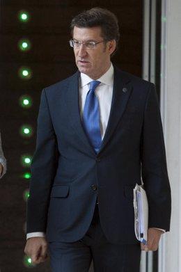 O mandatario galego, Alberto Núñez Feijóo, presidirá a reunión semanal do Conse