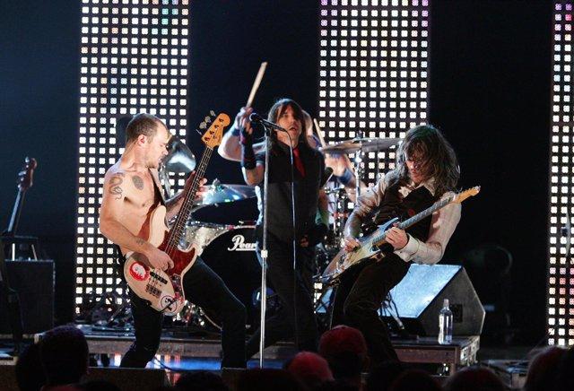 La banda californiana Red Hot Chili Peppers