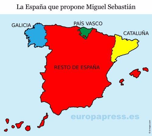 Propuesta de división territorial de Sebastián