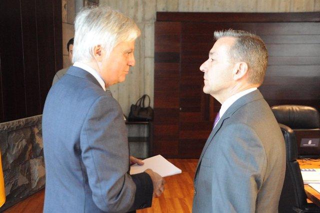 Pérez y Rivero, en Consejo de Gobierno