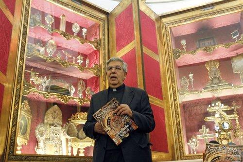 El conservador del Patrimonio Artístico de la Catedral de Valencia