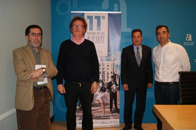 Presentación del jurado del festival de cine de Alicante